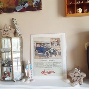 VTG '23 Print Ad Ladies Home Journal Overland Auto